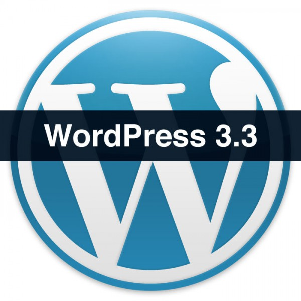 WordPress 3.3 Logo