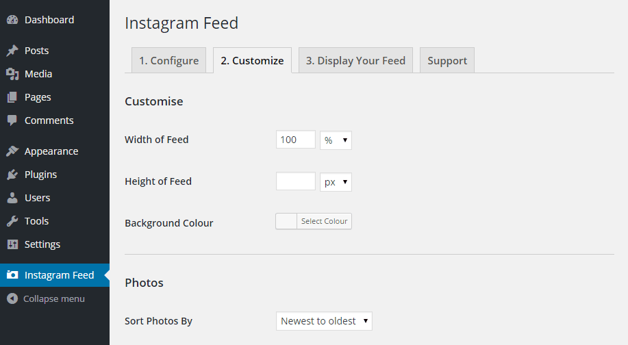how to get instagram feed on website