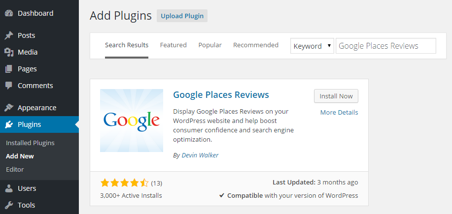how to use google reviews