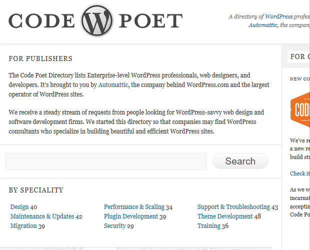 Code Poet - WordPress Developer Resource