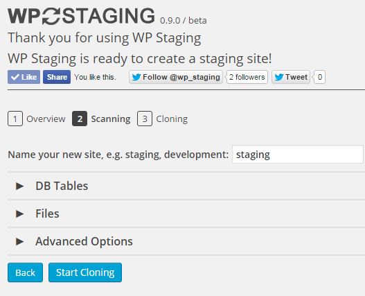 The Easy Way To Create A Staging Site