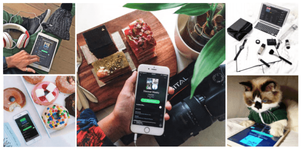 Spotify Discover Weekly campaign